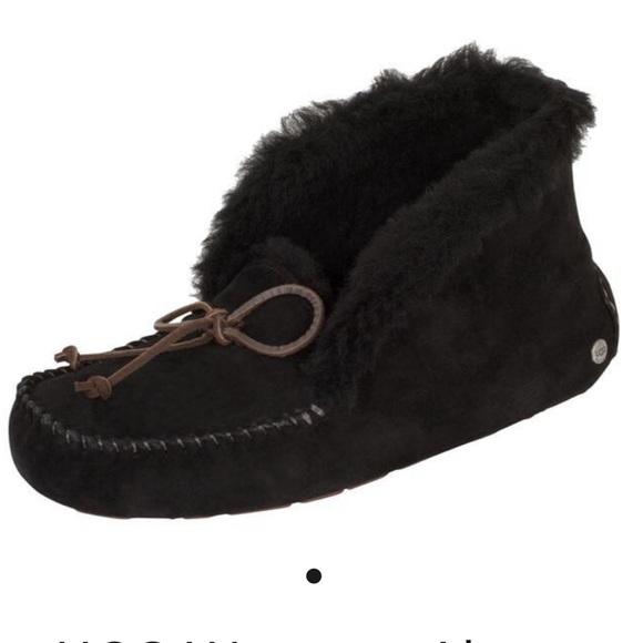 773b20628f7 Ugg Alena slipper in black